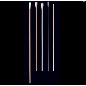 Escobillones no estériles soporte de madera