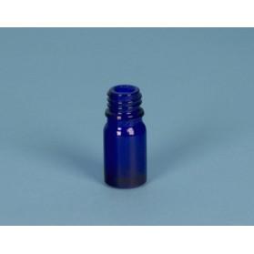 Frasco rosca azul cobalto DIN18