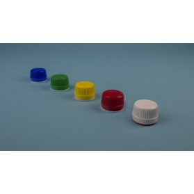 Tapón de rosca frasco DIN28 colores