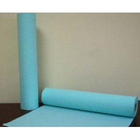 BOBINA DE PAPEL PARAFINADO (blanco/azul), 60x70