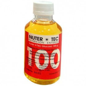NUTER-TEC Glucosa 100 caja 35 uds. (limón o naranja)