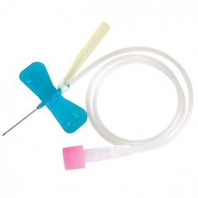 Microperfusor con aletas de seguridad (SURFLO®) - Caja de 50 unidades