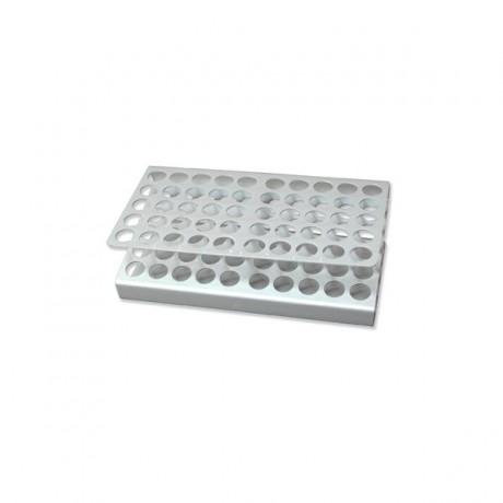 """Gradilla """"Z"""" 50 orificios 170x995x55mm aluminio"""