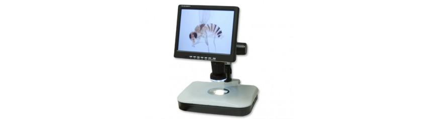 Video fotografía para microscopios