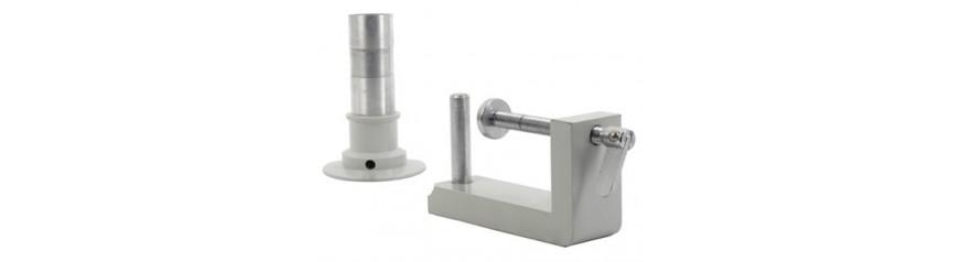 Soportes microscopio