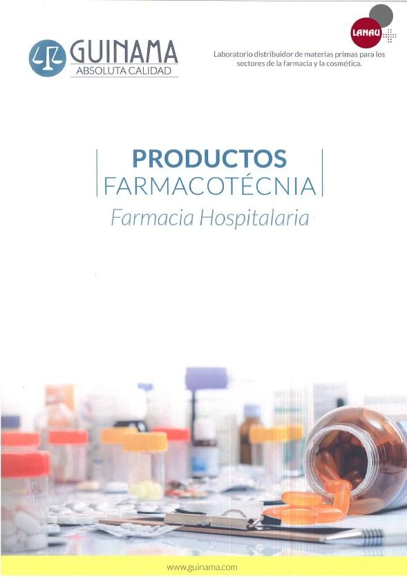 Productos Farmacotécnia